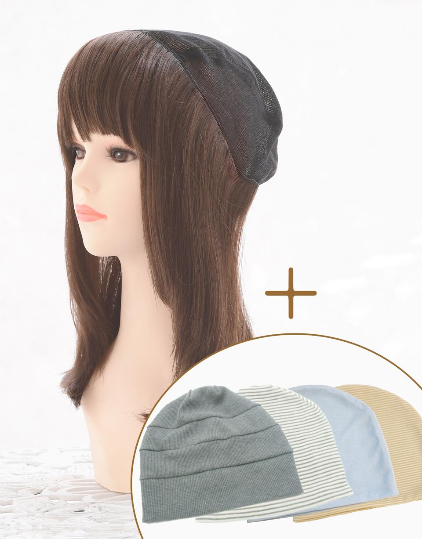 ミディアム&帽子セット