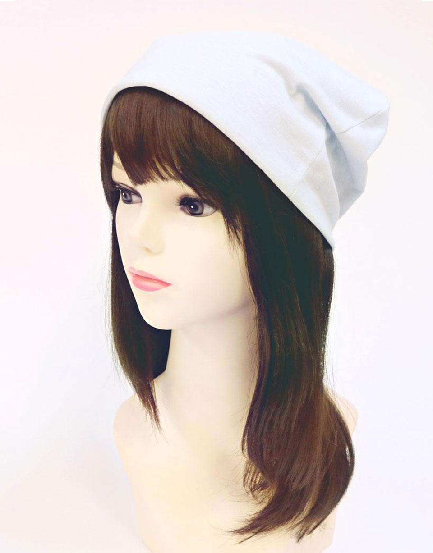 医療用帽子 シャロットサックス