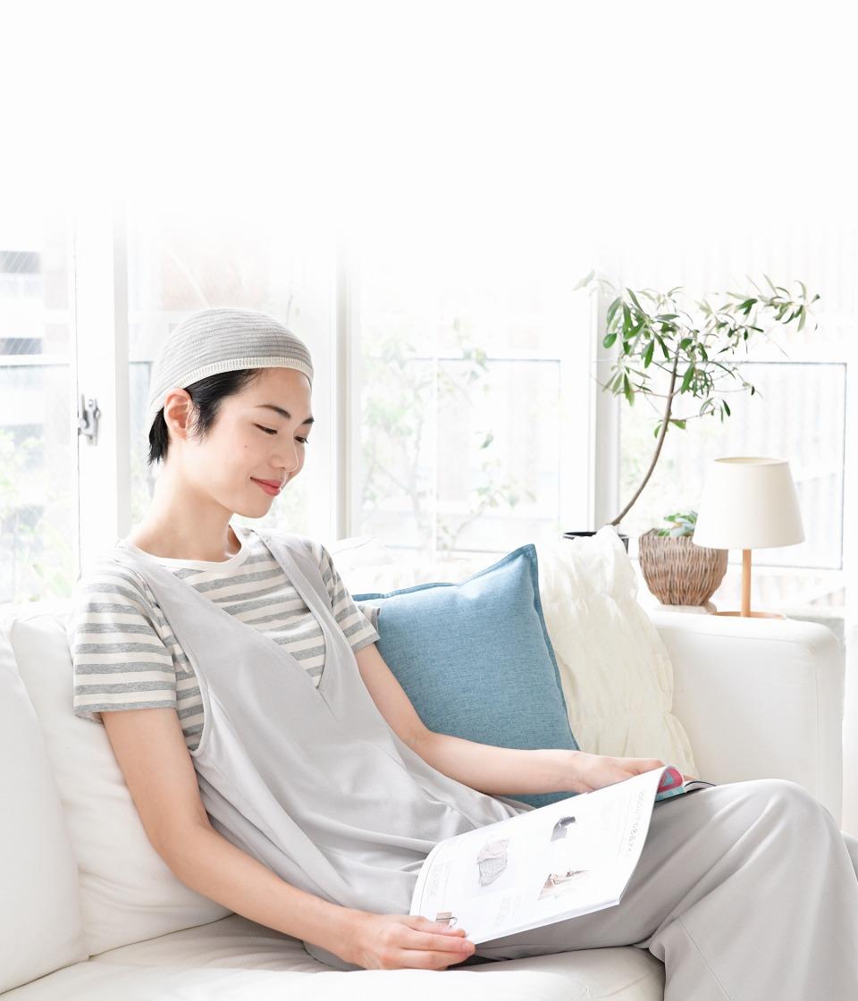 天然素材&無縫製の肌ざわりが優しいウィッグネット