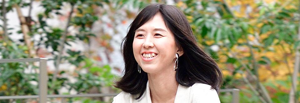 naokoさんの部分ウィッグモデル体験