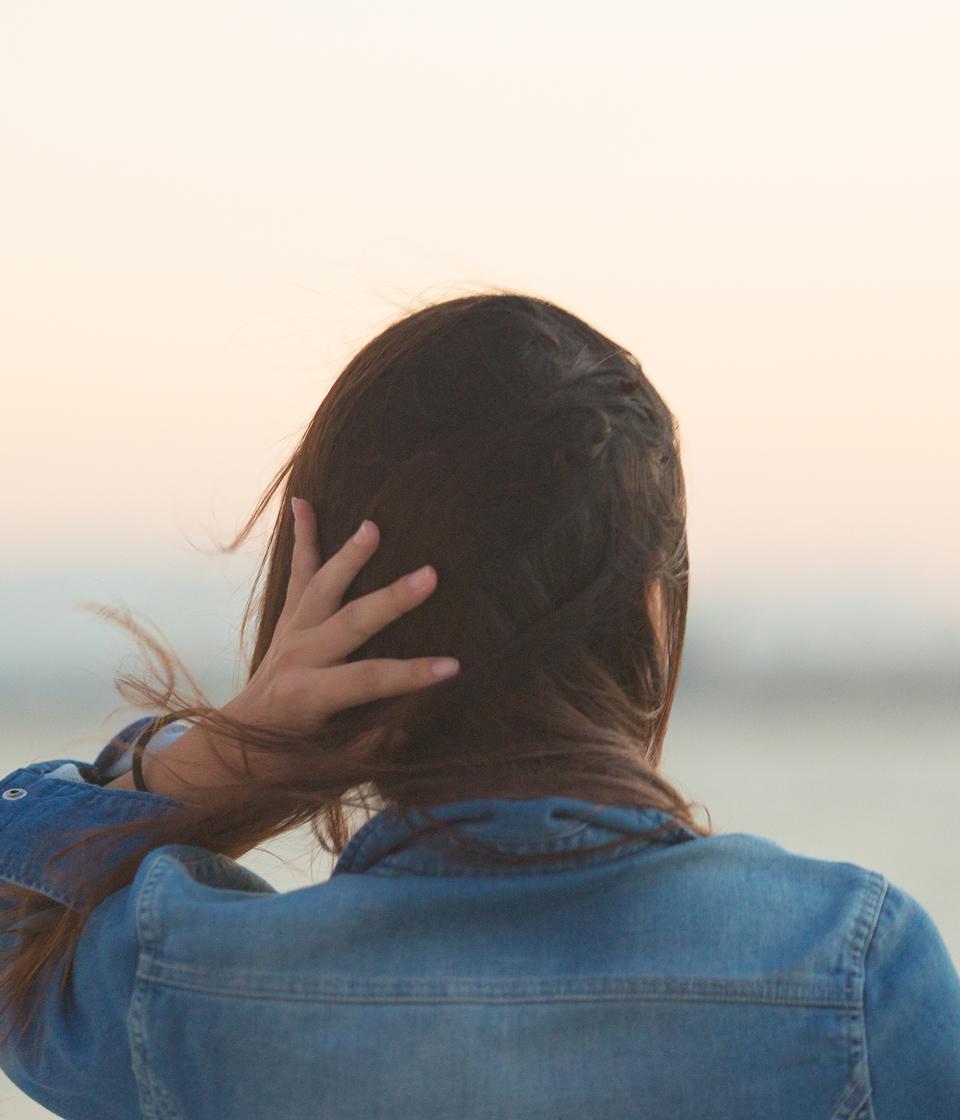 摩擦による頭皮への不快感からの開放