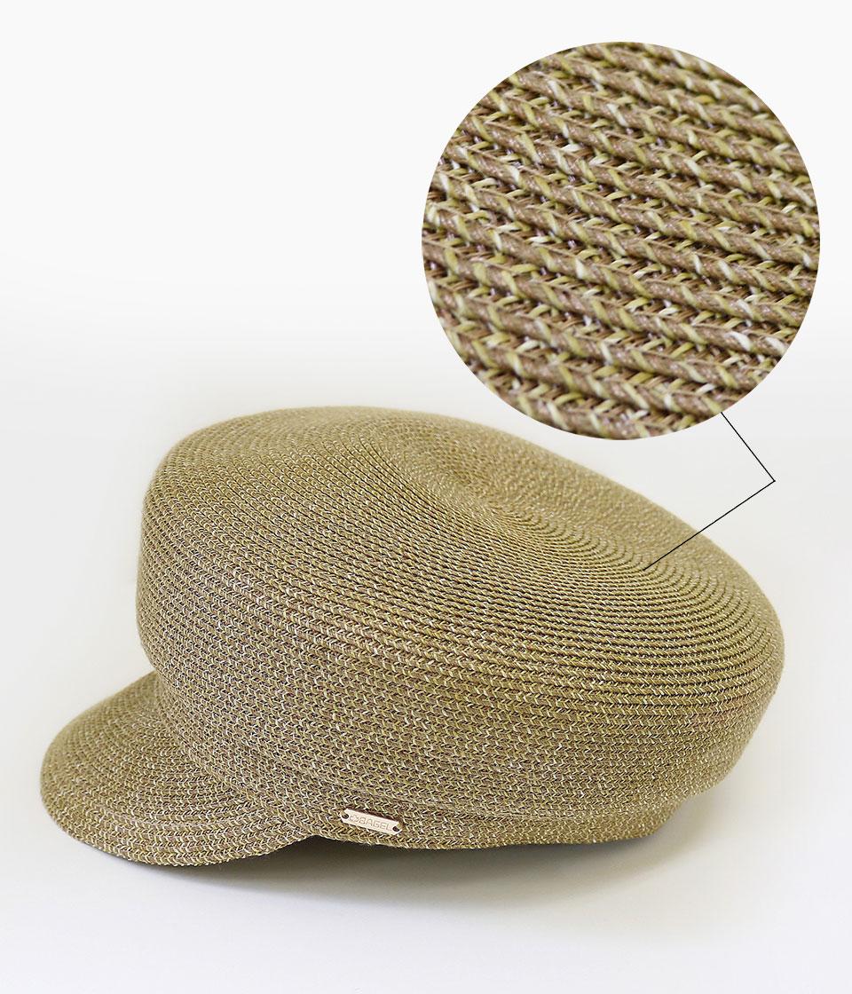 キャスケットタイプでお出かけに最適な医療用帽子