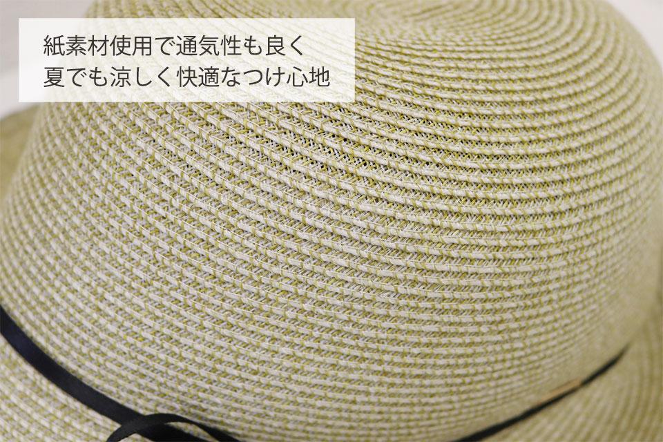 紙素材使用で通気性も良い医療用帽子